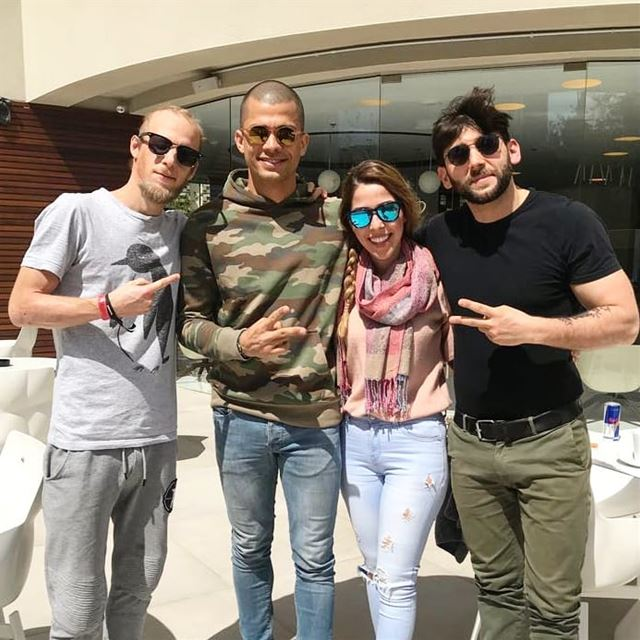 """Welcome to Real Life"" 😎  withthelegends @borisbrejcha @denizbul_music @ra"